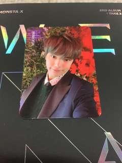 Monsta X Minhyuk photocard $40