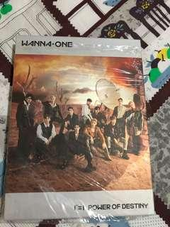 🚚 Wannaone cd album without pc unsealed