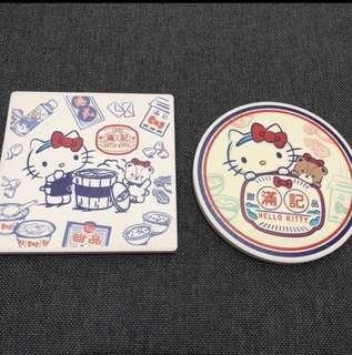 (New) Honeymoon 滿記 x hello kitty coaster 杯墊
