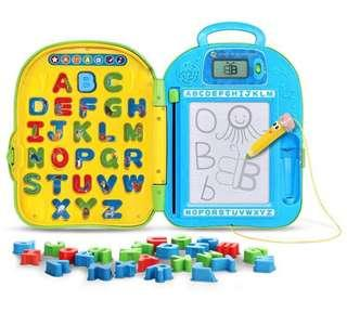 🚚 LeapFrog Mr. Pencil Go-with-Me ABC Backpack