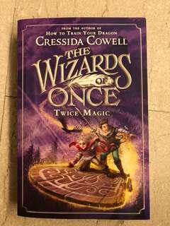 🚚 The Wizards of Once Twice Magic by Cressida Cowell