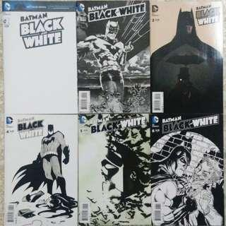 DC Comics - Batman: Black and White (Complete Set)
