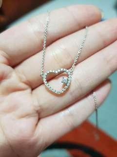 🚚 Soo Kee brilliant Rose diamond necklace