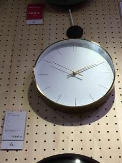 """Franc Franc 12"""" wall clock"""