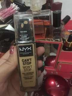 Nyx can't stop foundi