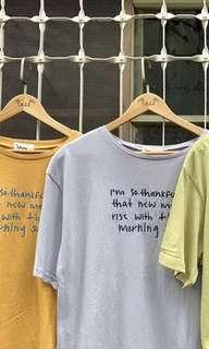 草寫刺繡字母上衣