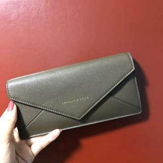 Charles & Keith Wallet (olive)