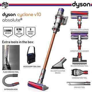 🚚 Dyson V10 Absolute+ Vacuum Cleaner (BRAND NEW)