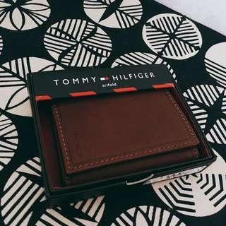 Tommy Hilfiger 100%new 銀包 皮