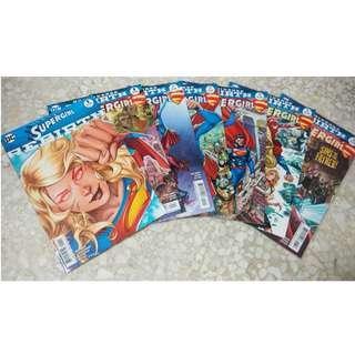 DC Comics REBIRTH: SUPERGIRL #1-#6