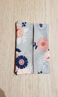 Jujube Wall Flower Tissue Pouch