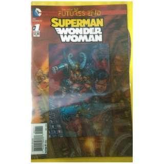 DC COMICS - SUPERMAN/WONDER WOMAN: FUTURES END #1