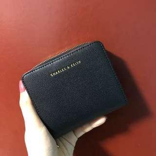 🚚 Charles & Keith wallet (red & black)