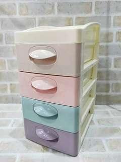 🚚 馬卡龍四層置物盒