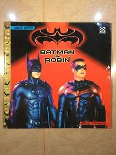 Batman & Robin Movie Storybook