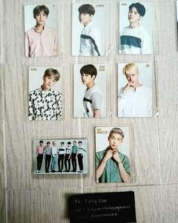 BTS Youth Japanese first press limited Photocards