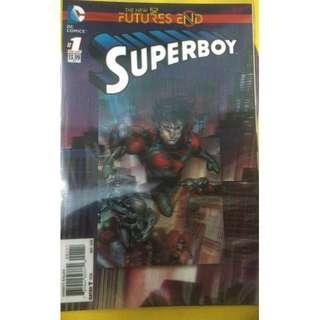 DC Comics - SUPERBOY: FUTURES END #1