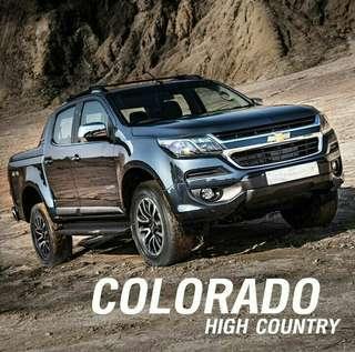 The New Chevrolet Colorado