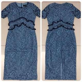 Doublewoot  Dertaxuw Dress (Blue)