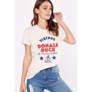 Cotton On Vintage Donald Duck American Classic Tbar T Shirt