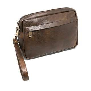 Tas Clutch Bag Pria Oxford Brown The daily smith