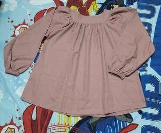 Off Shoulder Top blouse