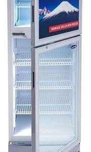 fujidenzo chiller w freezer