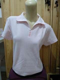 Soft Pink Polo Shirt // Kaos Polo Pink Muda