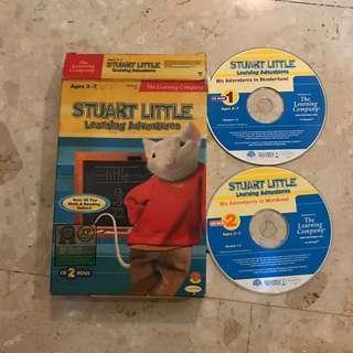 Stuart Little Learning Adventures. CD rom - PC