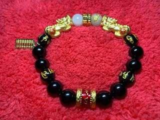 Full Gold Pixiu bracelet (Custom made)