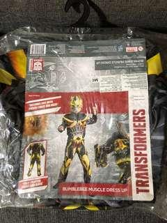 Transformer Bumblebee muscle child costume