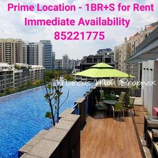 Prime Location near Great World City & CBD - 1BR+S c/w HS for Rent