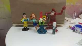 麥當勞 迪士尼 玩具 高飛狗