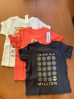 Authentic from US!! OLD NAVY shirt bundle 12-18m