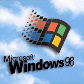 🚚 Windows 98 CD-ROM 原版光碟 (English / 英文版)