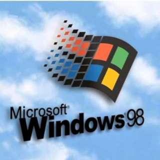 🚚 Windows 98 CD-ROM 原版光碟 (Traditional Chinese / 繁體中文版)