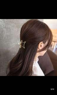 Hair clips (gold / sliver colour)