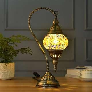 🚚 Turkish Table lamp / Side Table Lamp / Mosaic lamp