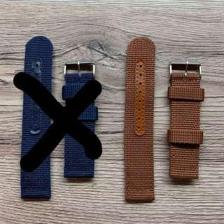 Nylon Watch Strap 22mm