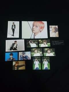 BTS V Official Photocards