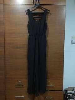 Black Jumpsuit with back details