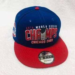 MLB 棒球帽 小熊隊棒球帽 2016世界冠軍棒球帽 美國帶回 限量版 全新品
