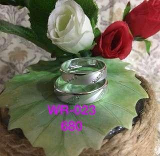 ITALY SILVER 925 COUPLE/WEDDING RING