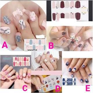 Cute Animal Nail Stickers