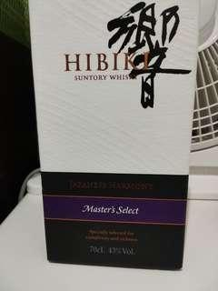 日本威士忌 響 hibiki suntory whisky master select