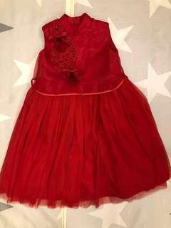 Girls Cheongsam qipao CNY Dress