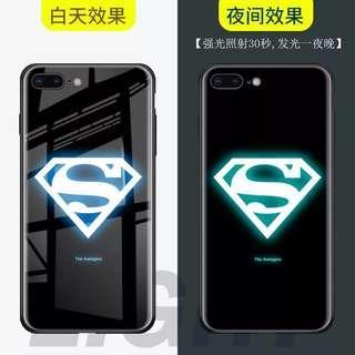 🚚 Superman luminescent iphone case