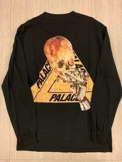 Palace Skull LS Tee