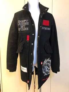 99成新現貨 Stage Jacket GotNoFear Show Stage外套長版外套 冬天保暖外套 潮男潮女必備