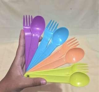 Spoon+Fork Tupperware